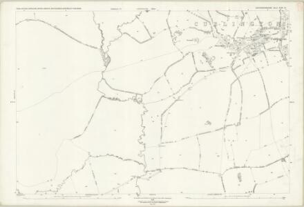 Buckinghamshire XXIII.12 (includes: Aston Abbots; Creslow; Cublington; Stewkley; Whitchurch) - 25 Inch Map