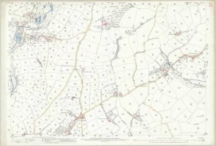 Cornwall LXXVI.6 (includes: Helston; Sithney; Wendron) - 25 Inch Map