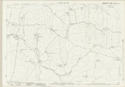 Caernarvonshire XIV.10 (includes: Eglwysfach; Llanddoget; Llanrwst Rural; Maenan) - 25 Inch Map