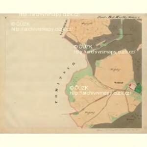 Frain - m3469-1-005 - Kaiserpflichtexemplar der Landkarten des stabilen Katasters