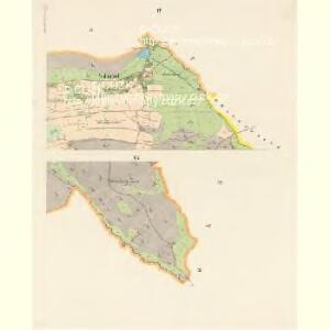 Gross Nixdorf - c4628-1-004 - Kaiserpflichtexemplar der Landkarten des stabilen Katasters