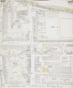 Insurance Plan of London East South-East District Vol. H: sheet 27