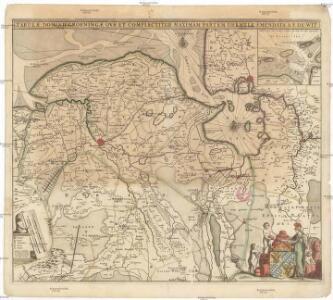 Tabulae dominii Groeningae qvae et complectitur maximam partem Drentiae