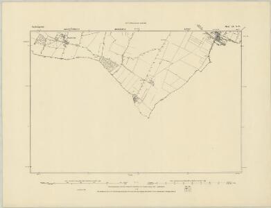 Cambridgeshire LIX.NE - OS Six-Inch Map