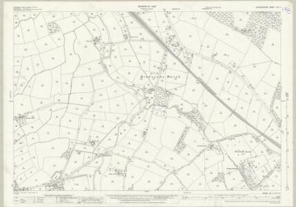 Warwickshire XX.11 (includes: Balsall; Barston; Berkswell) - 25 Inch Map