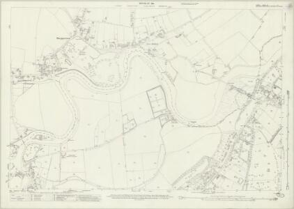 Surrey XI.8 (includes: Shepperton; Walton Upon Thames; Weybridge) - 25 Inch Map