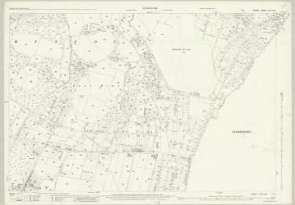 Dorset XLIV.3 & 4 (includes: Bournemouth; Hurn) - 25 Inch Map