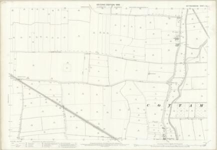 Nottinghamshire X.16 (includes: Cottam; North Leverton With Habblesthorpe; South Leverton) - 25 Inch Map