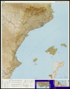 Mapa del domini lingüístic del català / Entitat Autònoma del Diari Oficial i de Publicacions, Institut Cartogràfic de Catalunya