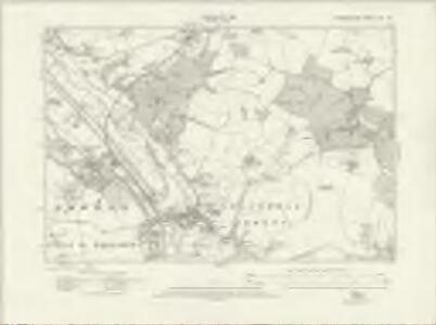Hertfordshire XXX.SW - OS Six-Inch Map