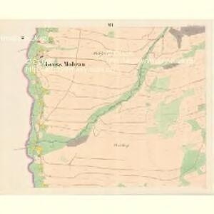 Gross Mohrau (Hruba Morawa) - m3311-1-010 - Kaiserpflichtexemplar der Landkarten des stabilen Katasters