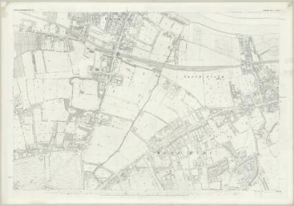 London (First Editions c1850s) LXXIII (includes: Wandsworth Borough) - 25 Inch Map