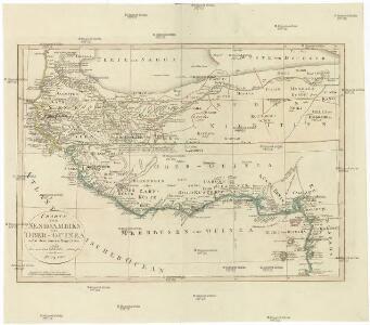 CHARTE von SENEGAMBIEN UND OBER-GUINEA nebst dem innern Nigritien