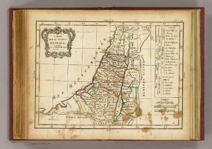 12 tribus d'Israel.