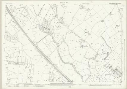 Staffordshire XXXVII.6 (includes: Cresswell; Seighford; Stafford) - 25 Inch Map