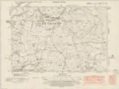Cheshire XI.SE - OS Six-Inch Map