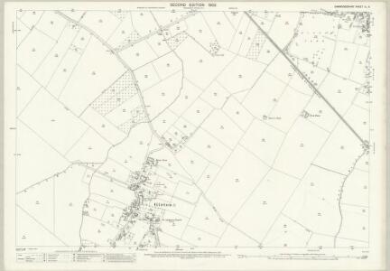 Cambridgeshire XL.5 (includes: Girton; Histon; Impington; Oakington) - 25 Inch Map