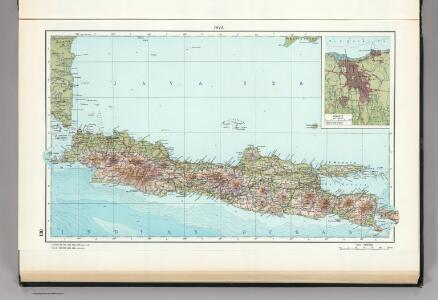 130.  Java.  Jakarta.  The World Atlas.