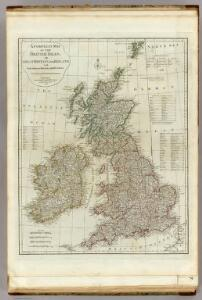 A compleat map of the British Isles.