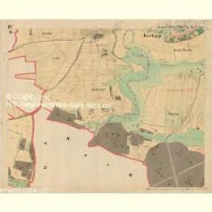 Kurlupp - m1274-1-004 - Kaiserpflichtexemplar der Landkarten des stabilen Katasters