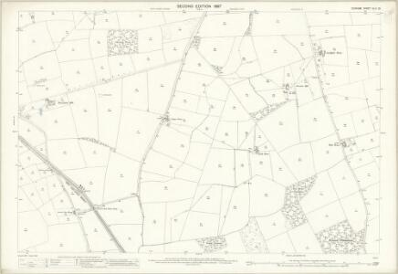 Durham XLIII.12 (includes: Foxton And Shotton; Mordon; Sedgefield) - 25 Inch Map