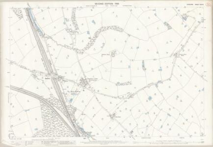 Cheshire XXV.10 (includes: Aston; Dutton; Preston Brook) - 25 Inch Map