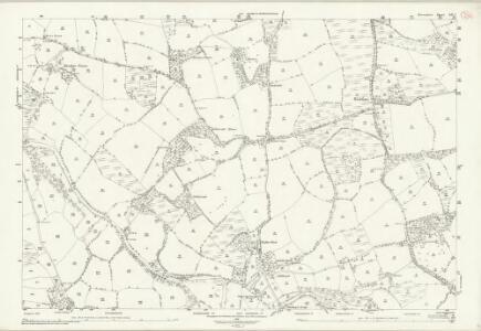 Devon LII.7 (includes: Hatherleigh; Iddesleigh; Monk Okehampton) - 25 Inch Map
