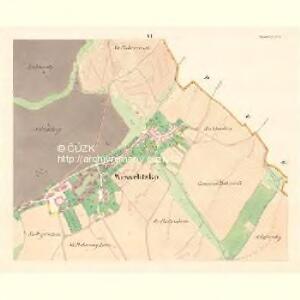 Wesselitzko - m3364-1-005 - Kaiserpflichtexemplar der Landkarten des stabilen Katasters