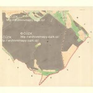 Zblowitz - m3572-1-003 - Kaiserpflichtexemplar der Landkarten des stabilen Katasters