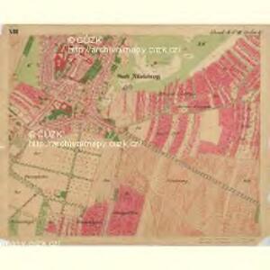 Nikolsburg - m1785-1-018 - Kaiserpflichtexemplar der Landkarten des stabilen Katasters