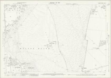 Surrey XXVI.6 (includes: Banstead; Kingswood; Walton on The Hill) - 25 Inch Map
