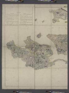 Facsimile of the unpublished British head quarters coloured manuscript map of New York & environs / reproduced from the original drawing in the War Office, London.