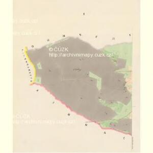 Gross Porzižan - c6027-1-001 - Kaiserpflichtexemplar der Landkarten des stabilen Katasters
