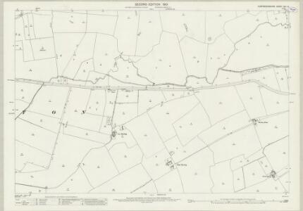 Huntingdonshire XVII.15 (includes: Alconbury; Brampton; Ellington) - 25 Inch Map