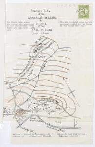 Situation Plan ot the Land Asked for Lease at Dikome by the Basel Mission