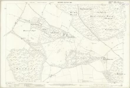 Hampshire and Isle of Wight LXIIA.4 (includes: Cranborne; Damerham) - 25 Inch Map