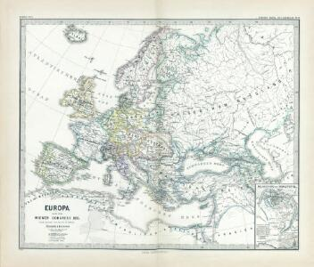 Europa nach dem Wiener Congress 1815