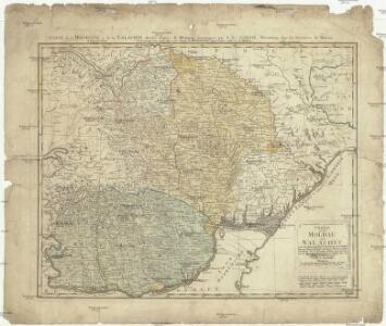 Charte von der Moldau und Walachey
