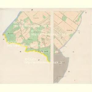 Purschau - c6024-1-001 - Kaiserpflichtexemplar der Landkarten des stabilen Katasters