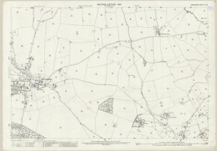 Shropshire XV.15 (includes: Hodnet) - 25 Inch Map
