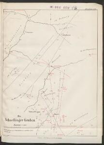 Übersichtskarte über die Erzgänge des Kinzigthales