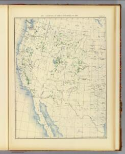 54. Areas irrigated 1889.