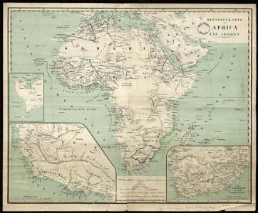 Mission map of Africa and Arabia