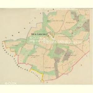 Klein-Luschenz (Malj-Lužence) - c4331-1-002 - Kaiserpflichtexemplar der Landkarten des stabilen Katasters