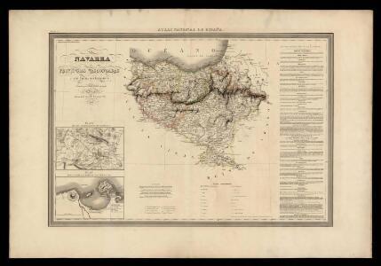Navarra y provincias vascongadas con las nuevas divisiones