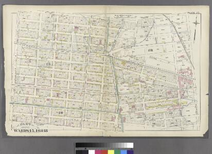 [Plate 27: Bounded by Withers Street, Kingsland Avenue, Parker Street, Vandervoort Avenue, Stagg Street, Morrill Street, Scholes Street and Union Avenue.]