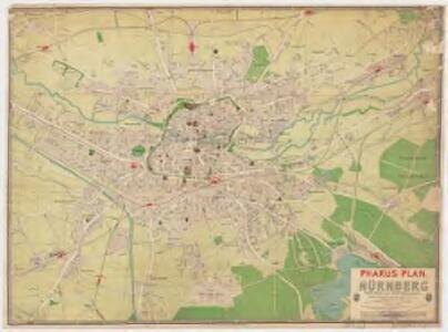 Pharus-Plan Nürnberg