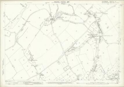 Hertfordshire XXV.10 (includes: Drayton Beauchamp; Tring Rural; Tring Urban) - 25 Inch Map