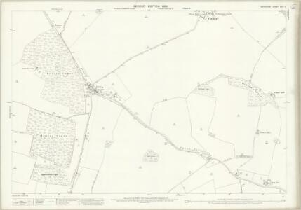Berkshire XXVI.4 (includes: Beedon; Brightwalton; Catmore; Farnborough; Peasemore) - 25 Inch Map
