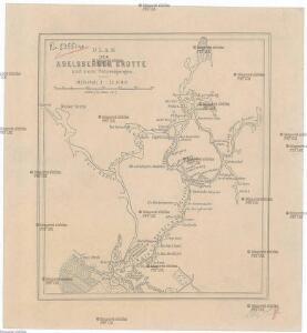 Plan der Adelsberger Grotte und ihrer Verzweigungen